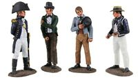 BRITAINS JACK TARS & LEATHERNECKS 13016 BRITISH ROYAL NAVY PRESS GANG 1805 1815