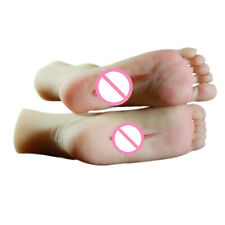 Silicone Foot Model with Hole Inside One pair Left and Right Foot