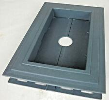 Recessed Split Mount Vinyl Mounting Block Blue Z15329 #7gz