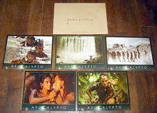 APOCALYPTO Mel Gibson Mayas South America Rudy Youngblood 5 FRENCH LOBBY CARDs