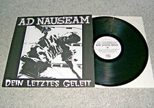 Ad nauseam-Ton dernier convoi (höhnie Records Monopoli 34 LP, No. 463/500)