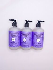 Mrs. Meyer's - Clean Day Liquid Hand Soap Lilac - 3 bottles 12.5oz each