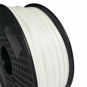 PP 1.75mm 3D Filament White 3D Printers Polypropylene low density Glass Filled