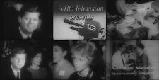 16mm Film JFK Hubert Humphrey The Wisconsin Primary NBC TV Network Kinescope PD