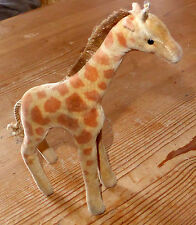 SELTEN: Alte Steiff Giraffe, Samtplüsch, 14cm, 1950er/1960er Ohne IDs