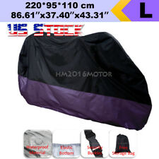 US Stock L Purple Motorcycle Cover For Honda Forza Ruckus Reflex Elite PCX150 CB