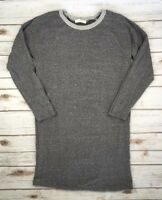 MM COUTURE BY MISS ME JEANS DRESS Sweater Sweatshirt Dress Grey Heather M L