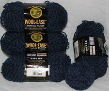 Lion Brand Yarn - Wool-Ease - Denim Twist - 4 skein - 10 oz total