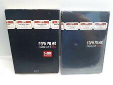 NEW ESPN FILMS COLLECTION VOL. 1 DVD 5-DISC COLLECTORS SET! SPORTS ESPN