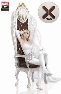 🚨🔥 X-MEN #19 MIGUEL MERCADO WHITE QUEEN Trade Dress Variant NM Emma Frost