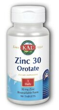 KAL Zinc 30 Orotate Sustained Release 90 Tablets