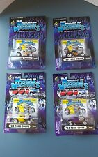 Muscle Machines diecast 1:64 '33 Ford Coupe set of four