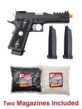 WE Hi-Capa 5.1 1911 Full Metal Gas Blowback Airsoft Pistol Package Deal