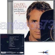 """CLAUDIO BAGLIONI """"TODO BAGLIONI"""" RARO CD IN SPAGNOLO"""