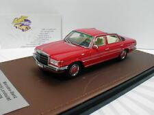 "GLM 207701 - Mercedes Benz 280 SEL W116 Landaulet "" rot "" 1:43 Lim.Ed. 199 pcs."