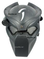 War Game Airsoft Paintball Strike Protection Predator Black Hunter Lighting Mask