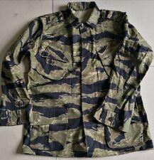 Vietnam War JWD pattern Tiger Stripe Camouflage Exposed Button Combat Jacket,NEW