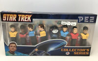 Star Trek Limited Edition Numbered Collector's Series PEZ set of 8 NEW