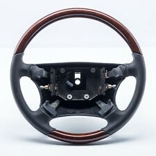 SAAB 9000 1994-98 WURZEL HOLZ WALNUT BURL LEDER LENKRAD STEERING WHEEL NEW