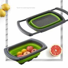 Vegetable Washing Foldable Strainer Basket