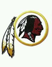 "Washington Redskins Logo 3"" Embroidered Iron Or Sew On Patch"