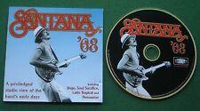 Santana '68 inc Soul Sacrifice / Jingo + CD