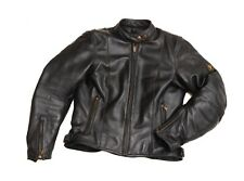 FANTASTIC ladies 'BELSTAFF' OHIO LEATHER BIKER JACKET size 14 (WITH PROTECTION)