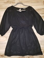 Express. sexy sheer black dress. sz. SP