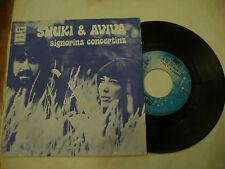 "SHUKI&AVIVA""SIGNORINA CONCERTINA-disco 45 giri EMI italy 1973"""