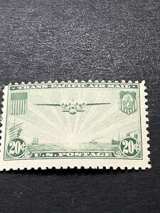 U.S. Scott # C21 20¢ China Clipper over the Pacific/no date MNHOG
