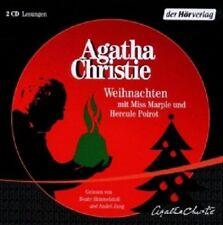 AGATHA CHRISTIE-WEIHNACHTEN MIT MISS MARPLE UND HERCULE POIROT  (2 CD)  NEU