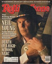 Rolling Stone June 2 1988 Neil Young, Beetlejuice w/ML VG 122816DBE