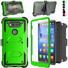 For LG V20 Case With Built In Screen Protector Kickstand Slim Hard Shockproof