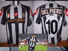 "Juventus Del Piero Lotto Adult XXL 46"" Shirt Jersey Soccer Football Maglia Italy"