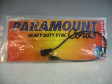 Paramount Sync Cord #G2-1S Gold Plated Household To PC Long Tip In Pkg 84