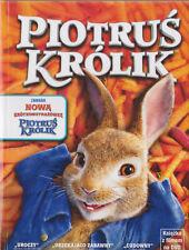 DVD - PIOTRUŚ KRÓLIK (PETER RABBIT) - NEW DVD