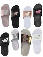 💖🔥 NEW WOMENS  NIKE BENASSI JDI SLIDE 🔥 NEW in BOX PINK WHITE BLACK PURPLE 💖