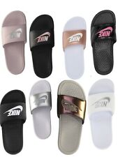 17160e71f NEW WOMENS NIKE BENASSI JDI SLIDE 🔥 NEW in BOX PINK WHITE BLACK PURPLE