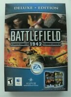 Battlefield 1942 Mac Game Deluxe Edition New w/ Road to Rome Expansion Pack New
