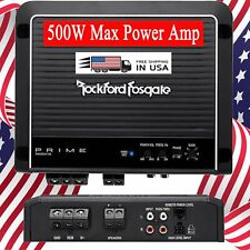 Rockford Fosgate Prime R500X1D 1-Channel Class D Car Mono Amplifier