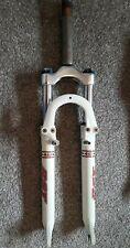 """26"""" RETRO RST 461 suspension forks 1 1/8"""" threaded steerer white mountain bike"""