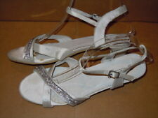Special O Women's Satin low  Pumps Size 38 (US 7.5)