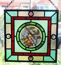 """Belle Victorienne """"Arts et Métiers's Design Stained Glass Panel."""