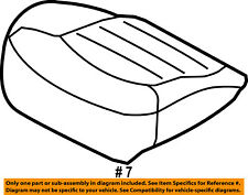 FORD OEM 07-10 Explorer Front Seat-Cushion Bottom Cover Right 8L2Z7862900GA