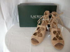 Authentic Lauren Ralph Lauren Hasel Sandals Sandstone Size 6.5