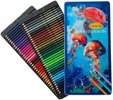 72 Colored Pencils Oil-Based Set, Professional Drawing Pencils for Art