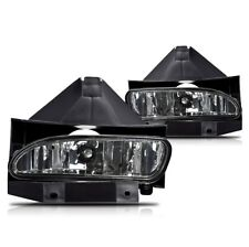 For Ford Mustang 99-04 Smoke Lens Pair Bumper Fog Light Lamp OE Replacement DOT