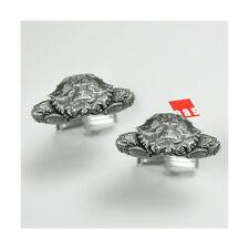 Solid Sterling Silver Mini Blue Crab Cufflinks  .  onesilversmith art studio