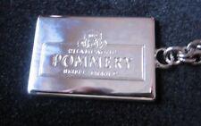 POMMERY CHAMPAGNE KEYRING NEW IN  VELVET POUCH RARE BRAND NEW GREAT GIFT