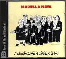 MARIELLA NAVA - MENDICANTE E ALTRE STORIE Anno 1992CD RCA PD 75311